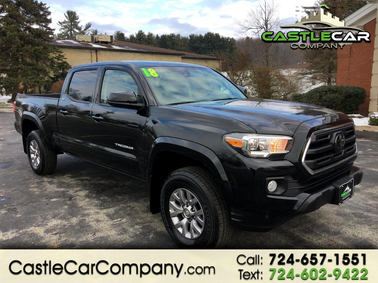 2018 Toyota Tacoma SR5 Double Cab 6' Bed V6 4x4 AT (Natl)