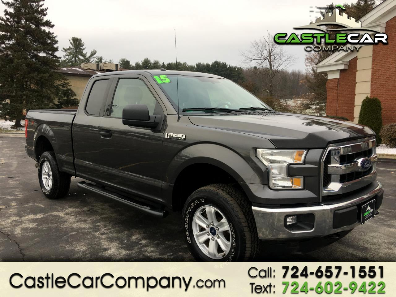 2015 Ford F-150 4WD SuperCab 163