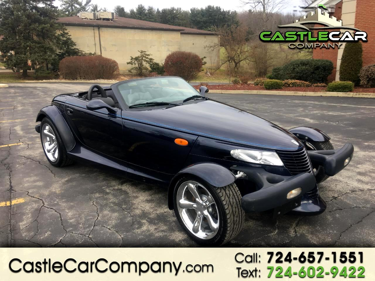 2001 Plymouth Prowler 2dr Roadster