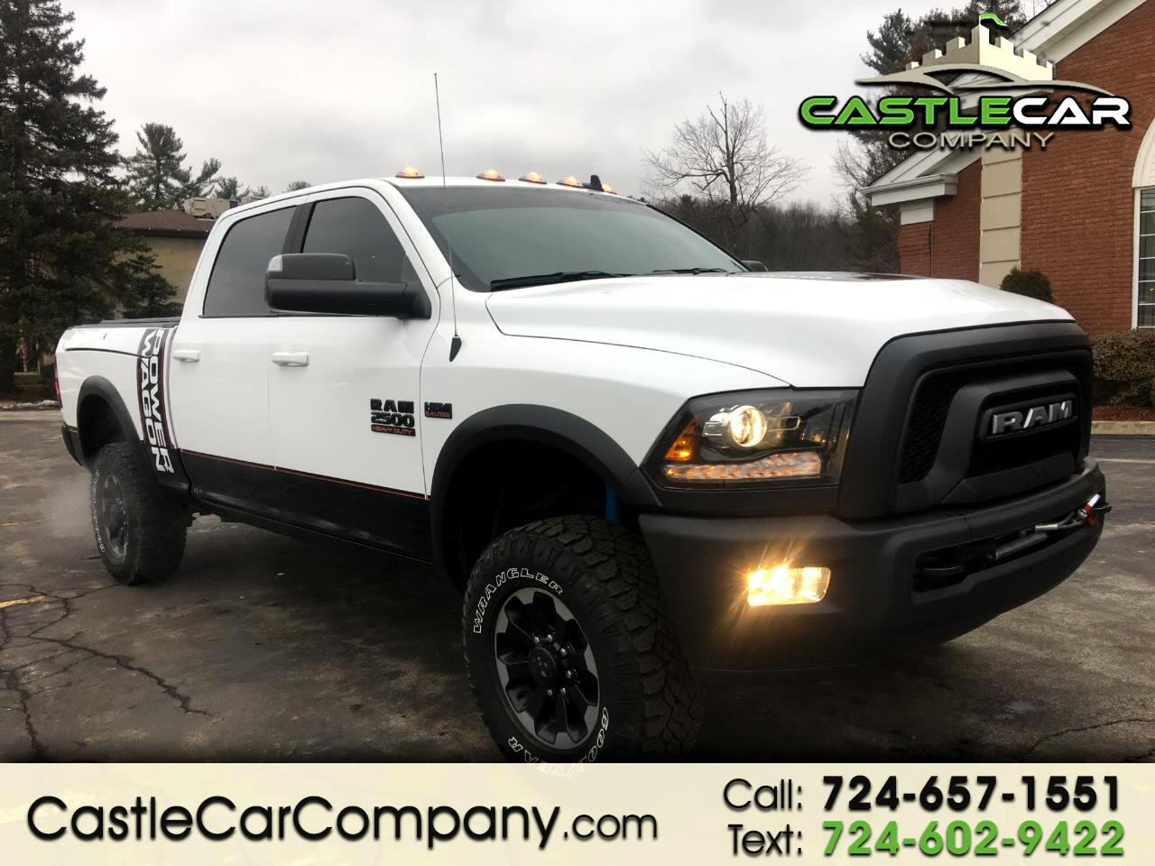 2018 RAM 2500 Power Wagon 4x4 Crew Cab 6'4