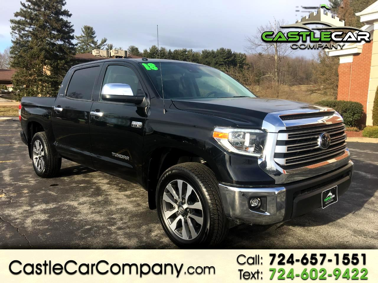 2018 Toyota Tundra 4WD Limited CrewMax 5.5' Bed 5.7L (Natl)