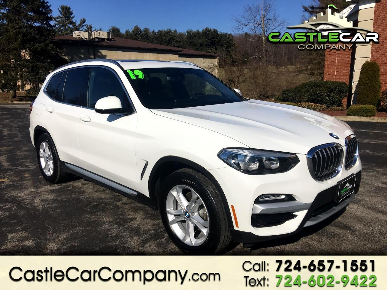 2019 BMW X3 xDrive30i Sports Activity Vehicle