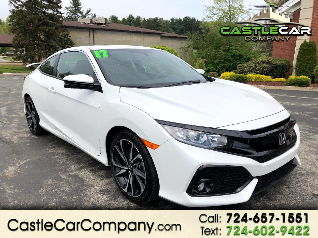 2017 Honda Civic Coupe Si Manual
