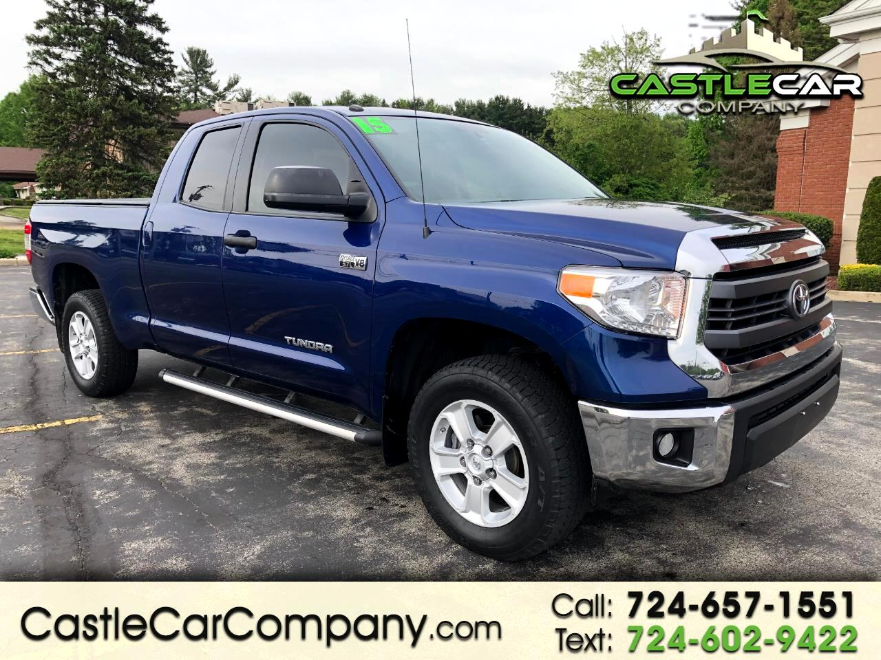 2015 Toyota Tundra 4WD Truck Double Cab 5.7L V8 6-Spd AT SR5 (Natl)
