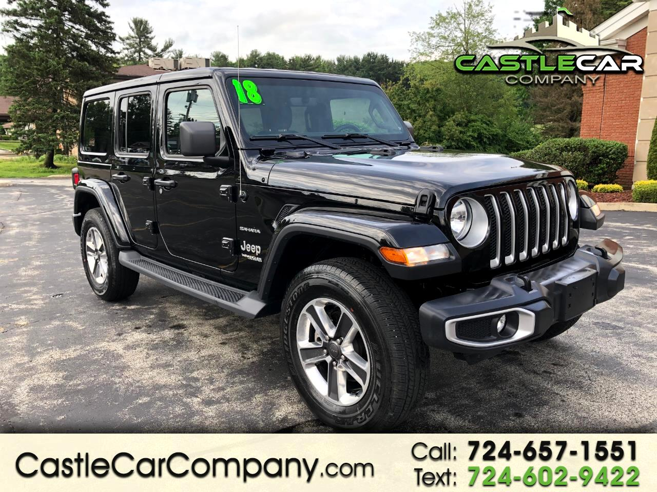 2018 Jeep Wrangler Unlimited JL UNLIMITED SAHARA EDITION