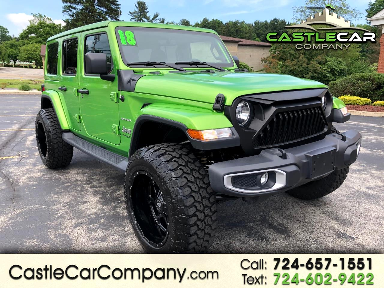 2018 Jeep Wrangler Unlimited JL NEW BODY STYLE FULLY CUSTOMIZED