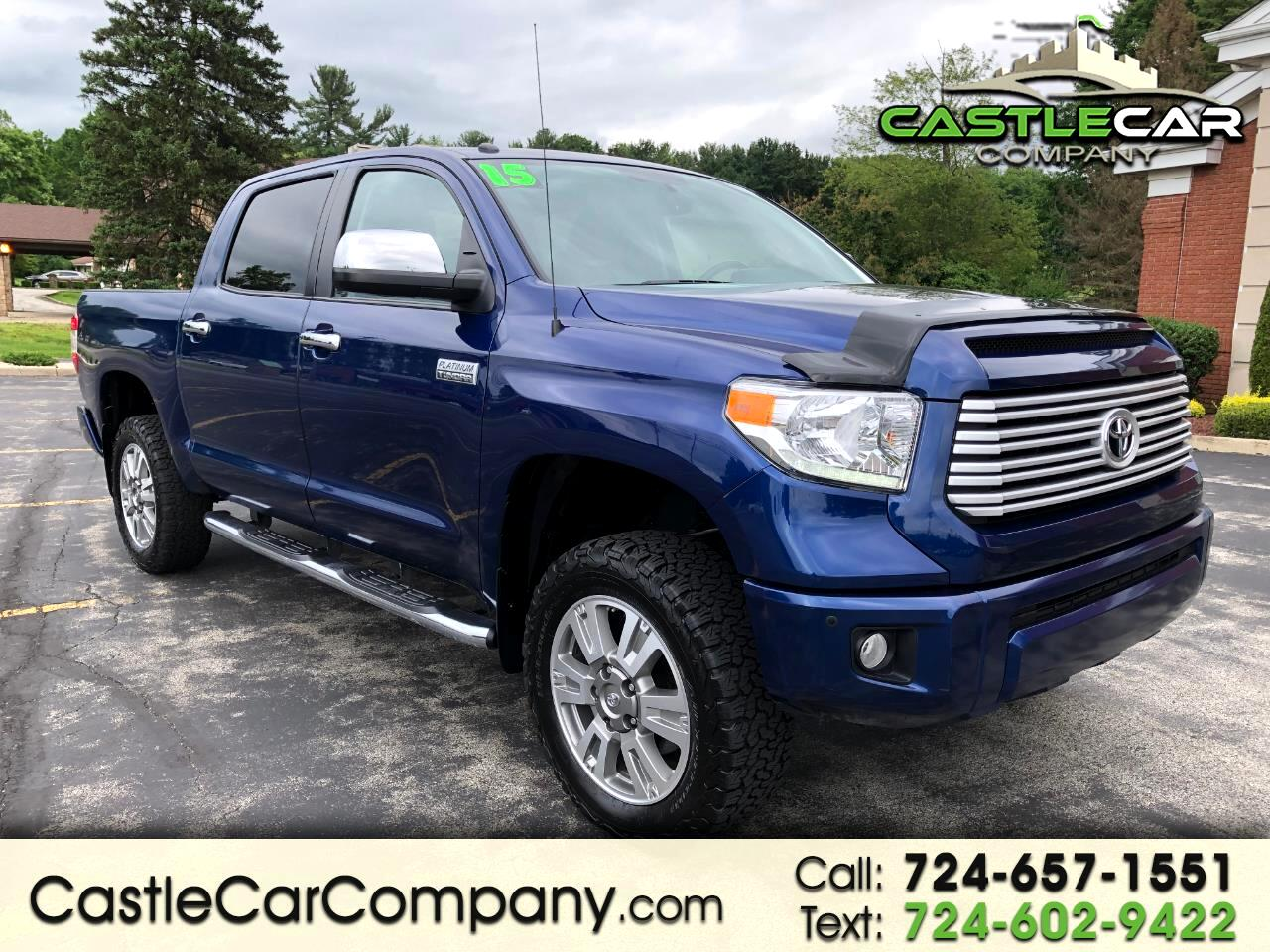2015 Toyota Tundra 4WD Truck CrewMax 5.7L V8 6-Spd AT Platinum (Natl)