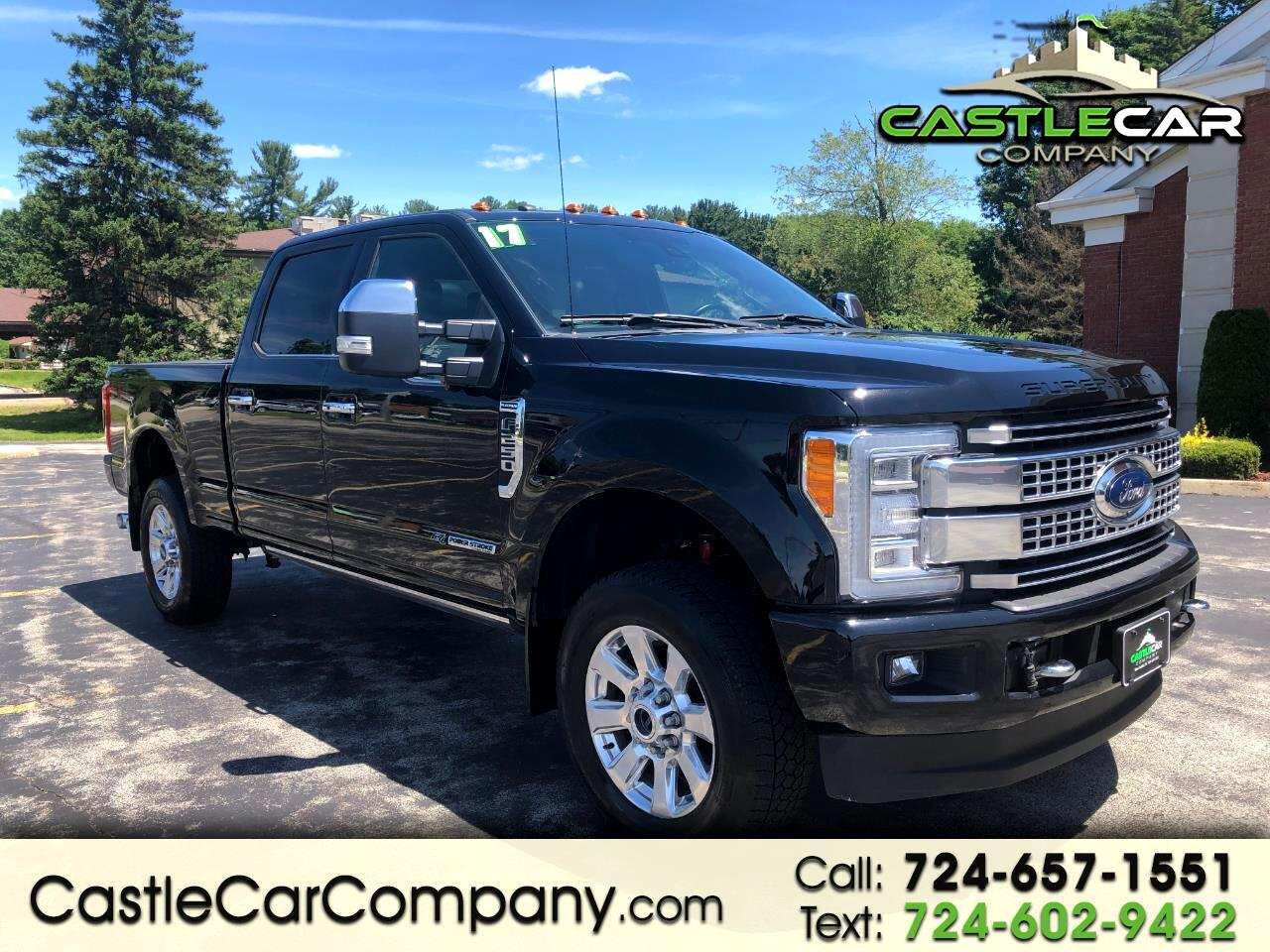 2017 Ford Super Duty F-250 SRW PLATINUM 4WD CREW CAB WITH ULTIMATE PACKAGE