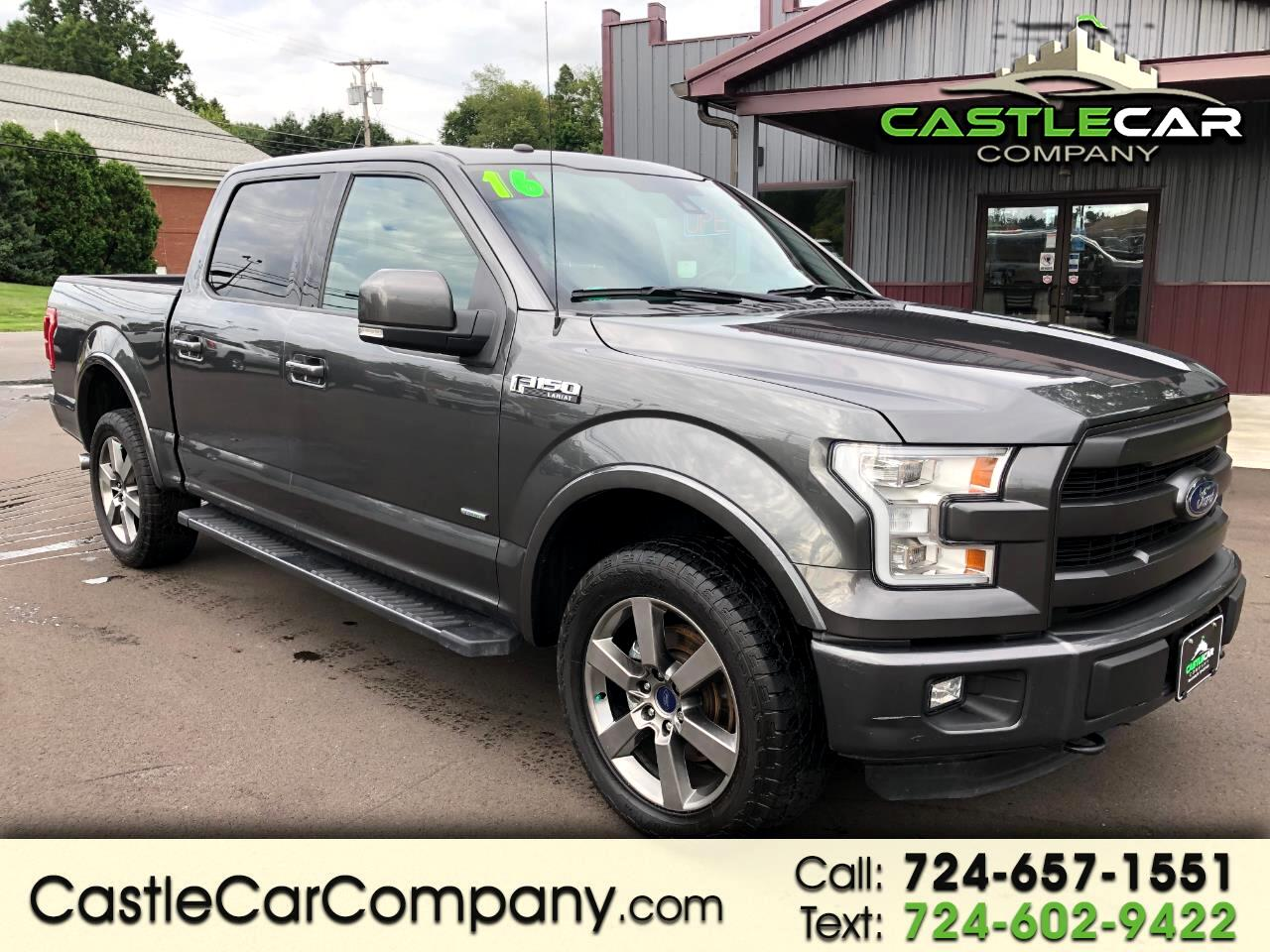 2016 Ford F-150 4WD SUPERCREW LARIAT WITH FX4 OFF ROAD PACKAGE