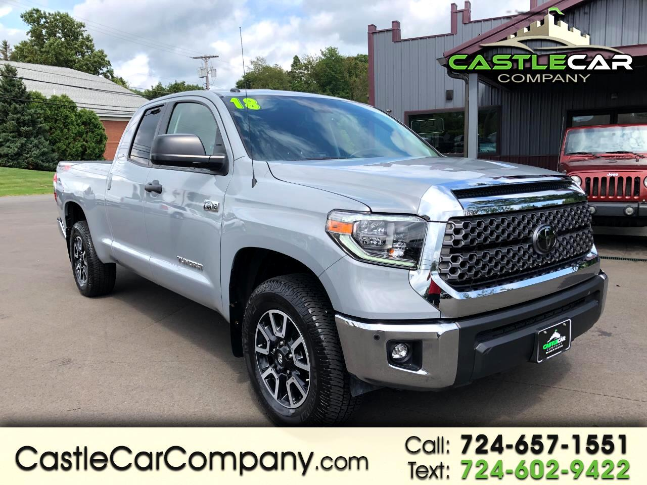 2018 Toyota Tundra 4WD TRD Pro Double Cab 6.5' Bed 5.7L (Natl)