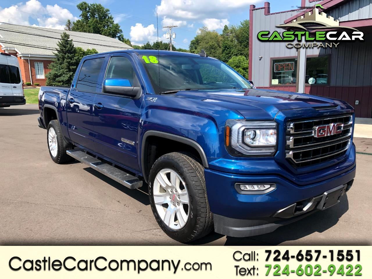 2018 GMC Sierra 1500 4WD CREW CAB Z71 ELEVATION PACKAGE