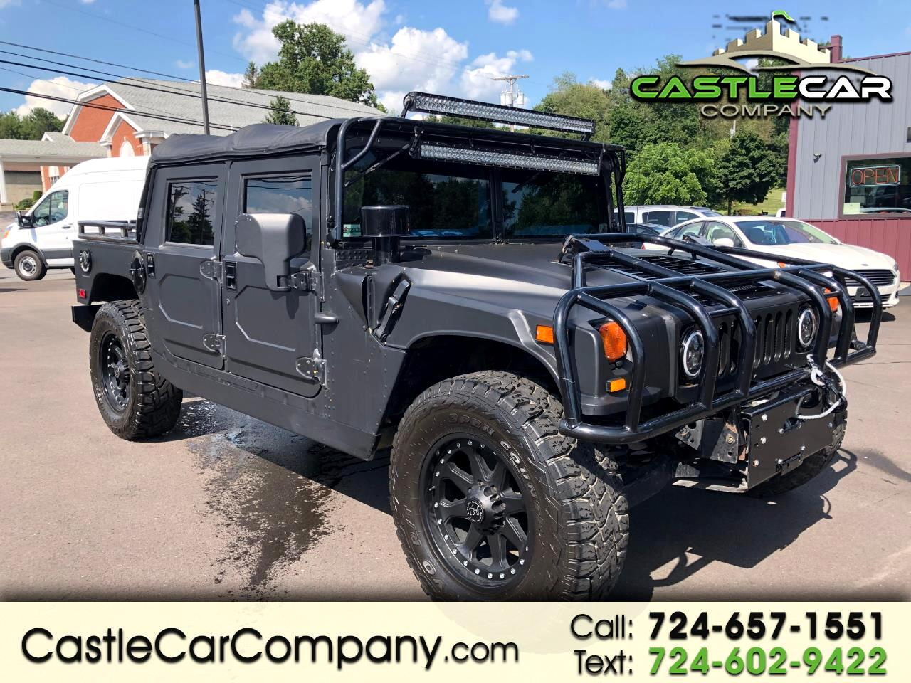 2002 HUMMER H1 4-Passenger Open Top Hard Doors