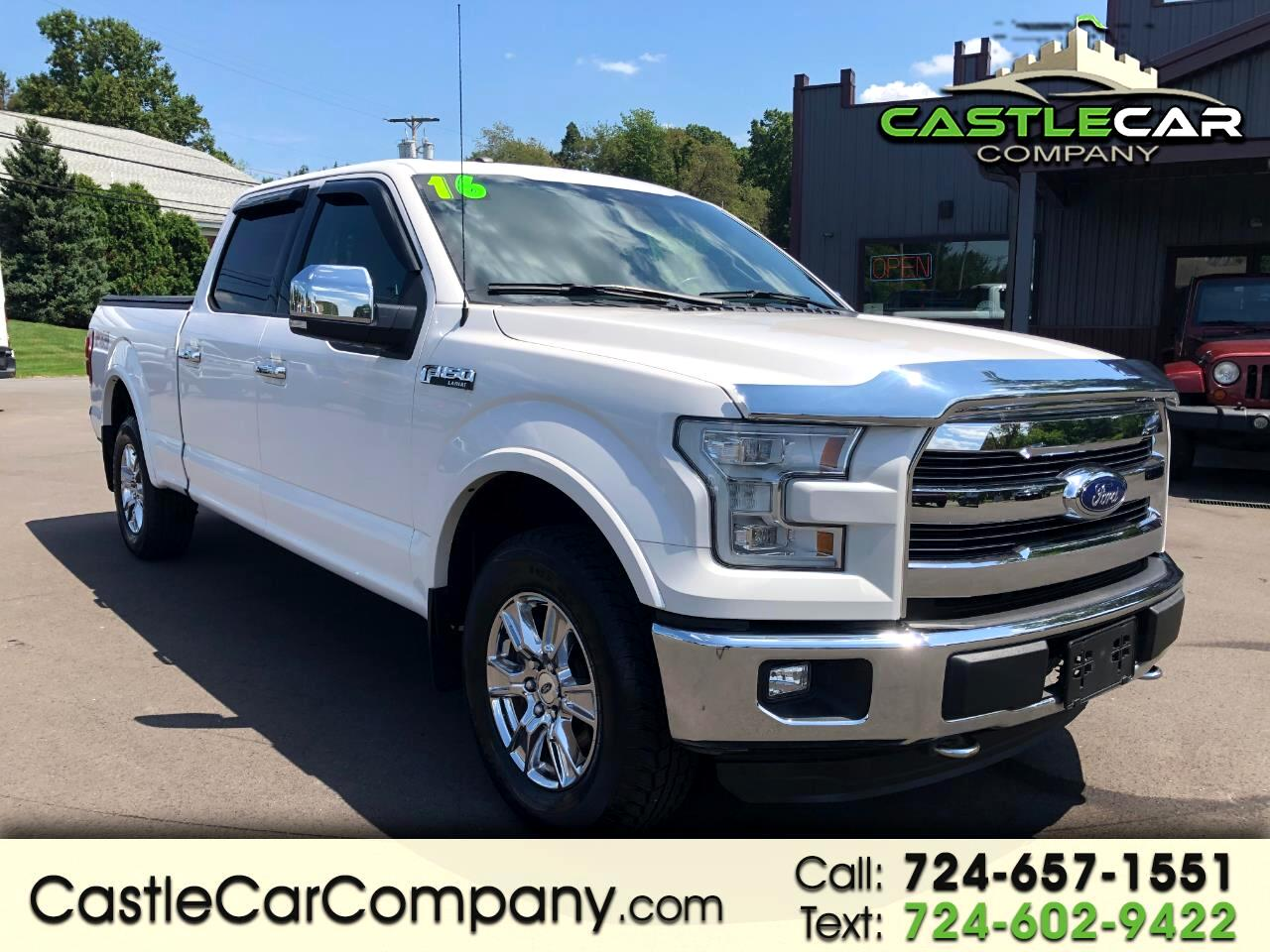 "2016 Ford F-150 4WD SuperCrew 145"" Lariat"