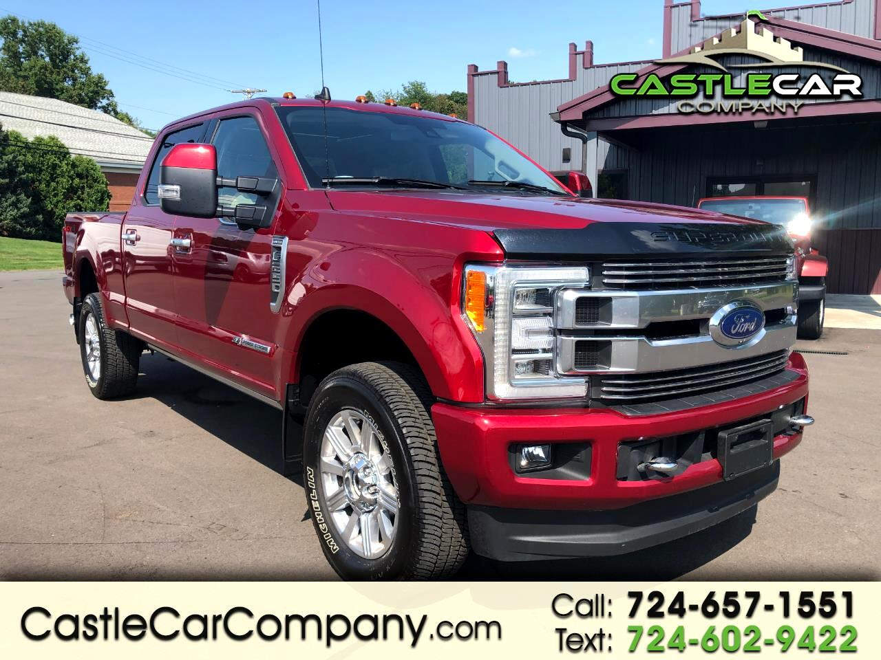2019 Ford Super Duty F-250 SRW Limited 4WD Crew Cab 6.75' Box