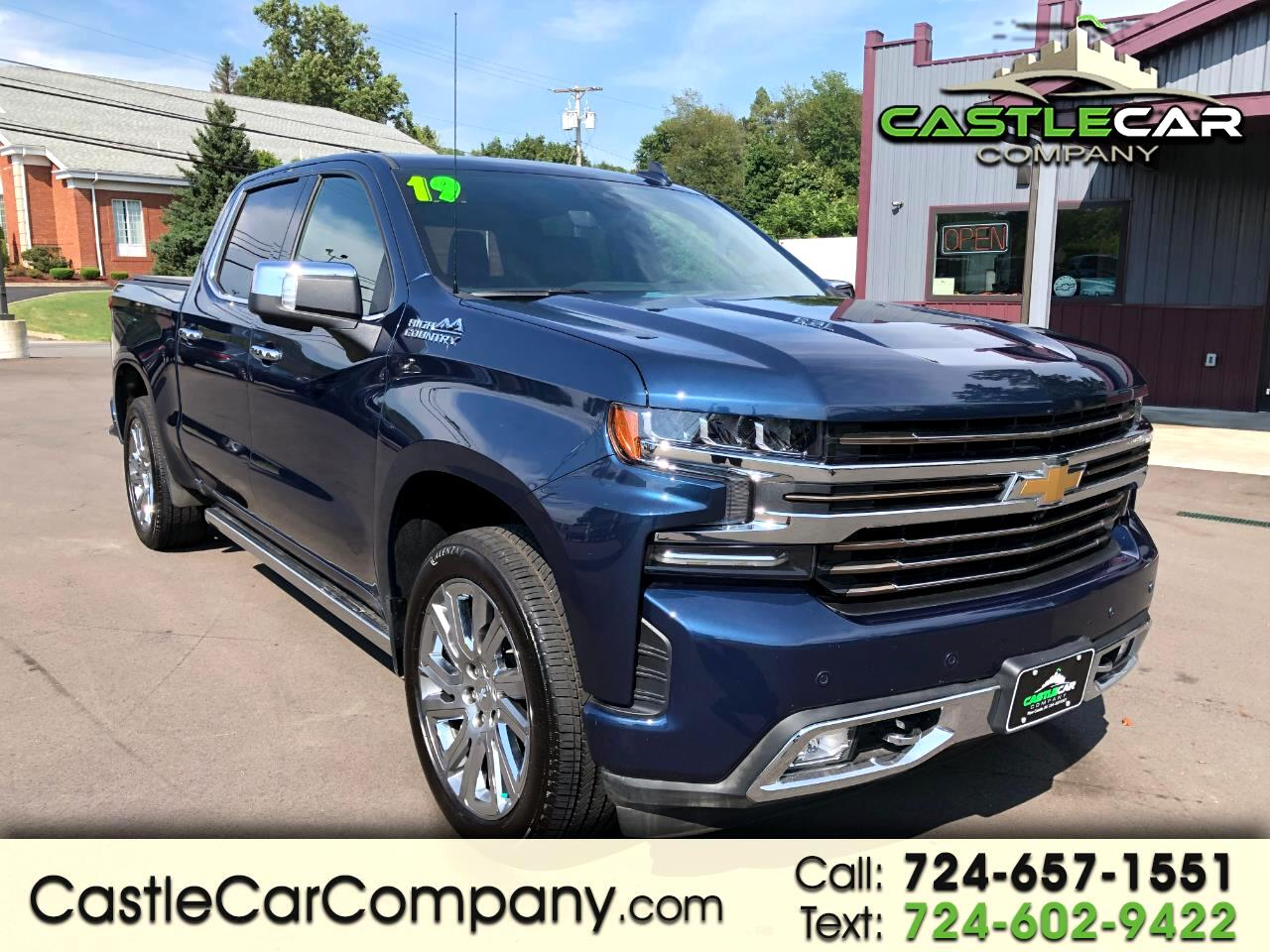 "2019 Chevrolet Silverado 1500 4WD Crew Cab 147"" High Country"