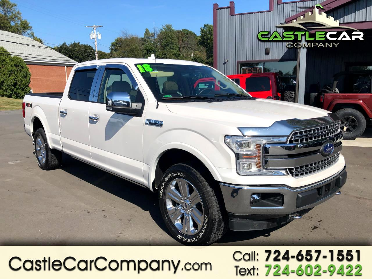 Ford F-150 Lariat SuperCrew 6.5-ft Box 4WD 2018