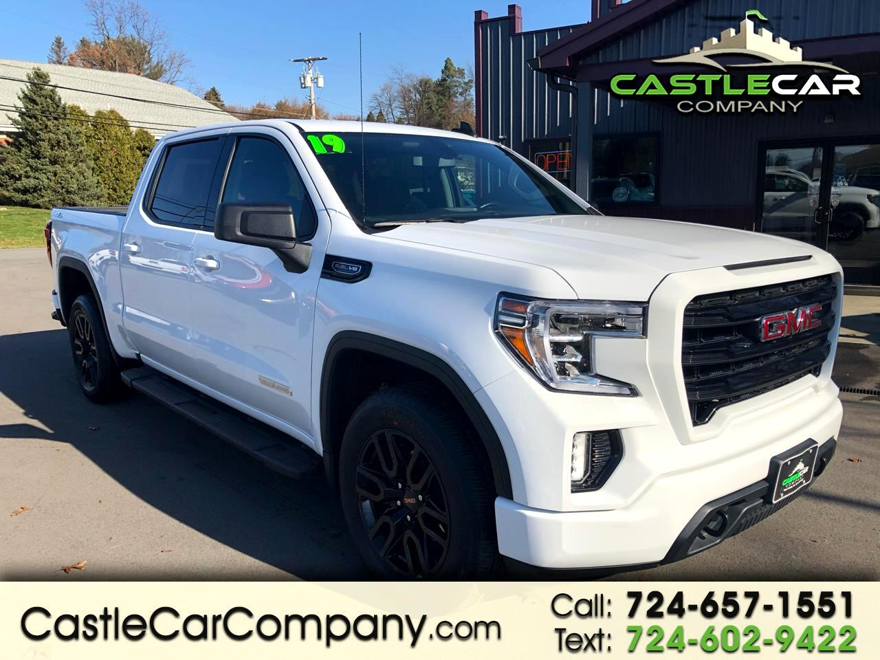 "GMC Sierra 1500 4WD Crew Cab 147"" Elevation 2019"