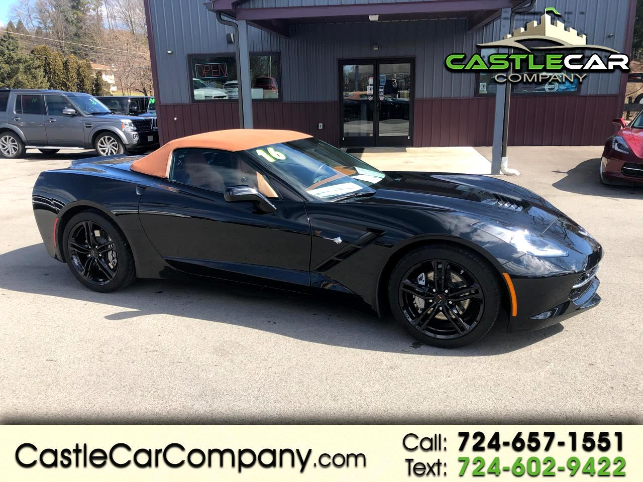 Chevrolet Corvette 2dr Stingray Conv w/3LT 2016