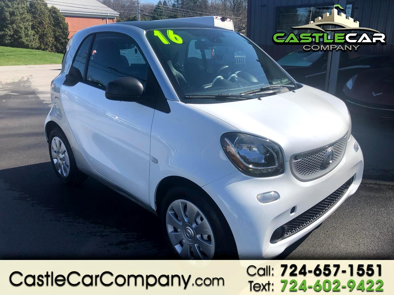 smart Fortwo 2dr Cpe Pure 2016