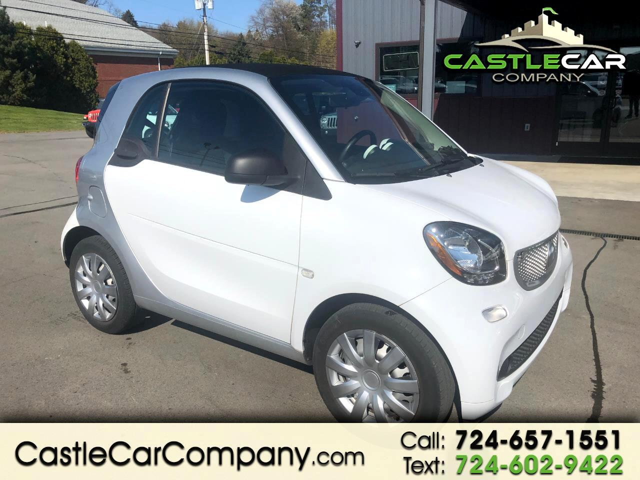 smart Fortwo passion coupe 2017