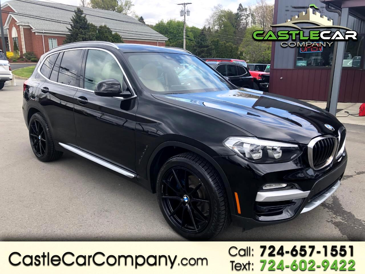 BMW X3 xDrive30i Sports Activity Vehicle 2019