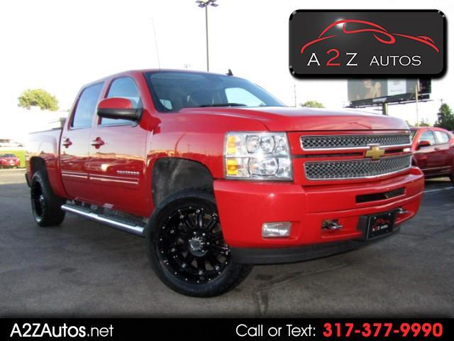 2012 Chevrolet Silverado 1500 1LT Crew Cab Long Box 4WD