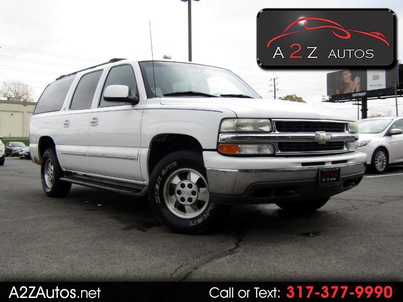 2001 Chevrolet Suburban 1500 4WD LT