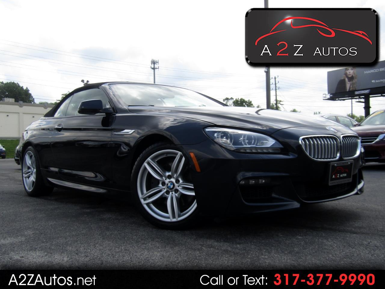 2015 BMW 6-Series 650i xDrive Convertible
