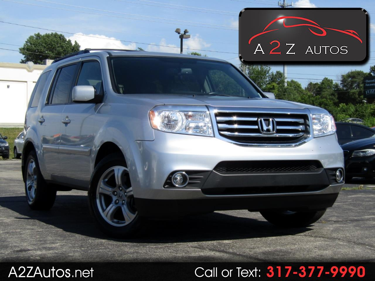 2013 Honda Pilot EX-L 4WD 5-Spd AT with DVD