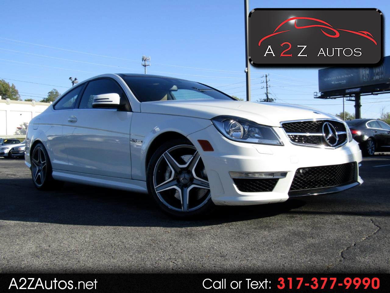 2012 Mercedes-Benz C-Class C63 AMG Coupe