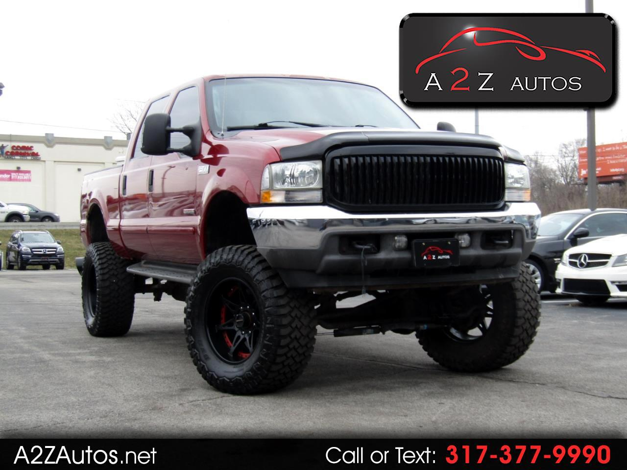 Ford F-350 SD Lariat Crew Cab Long Bed 4WD 2003