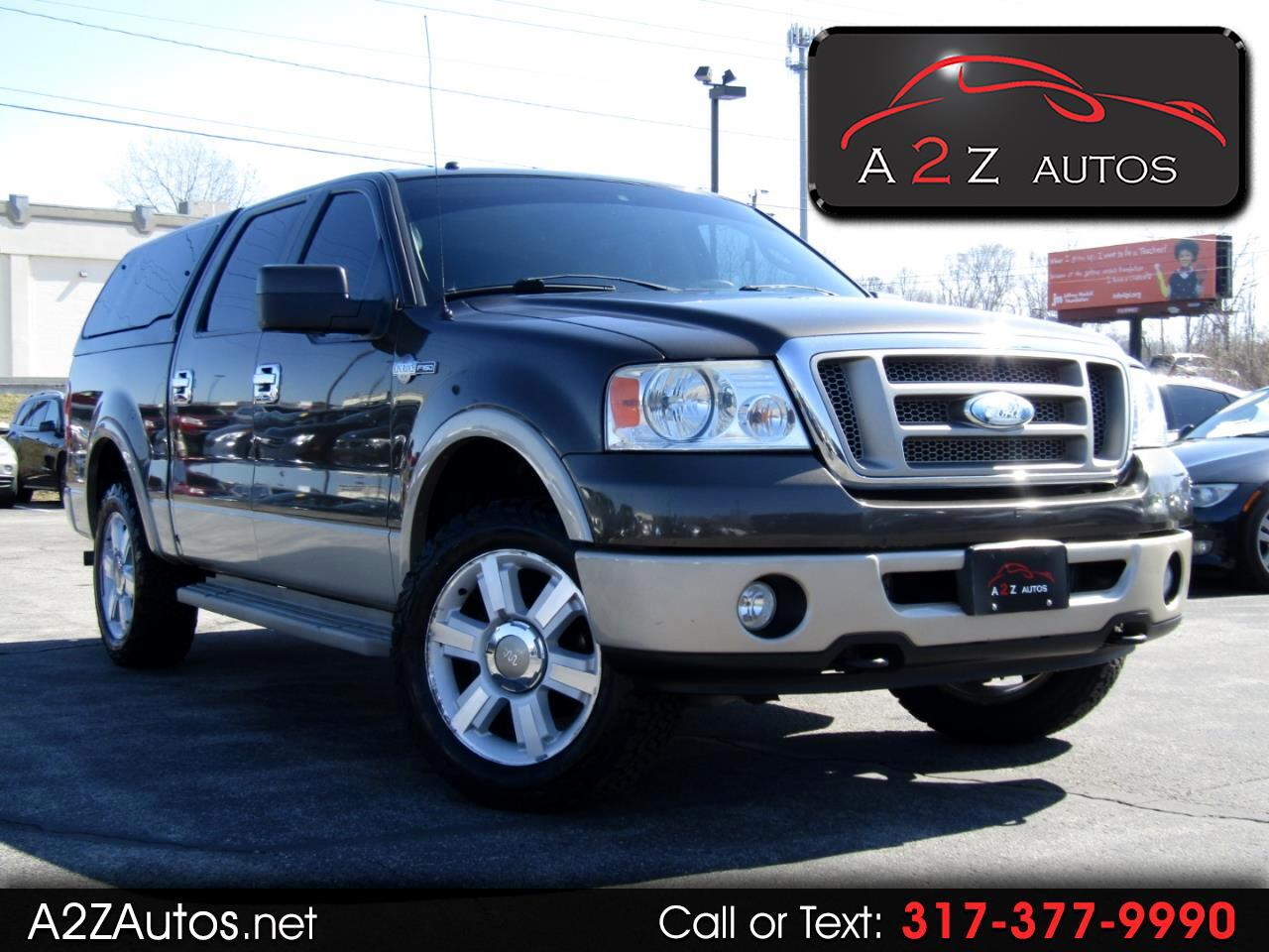 Ford F-150 XL SuperCrew Short Bed 4WD 2008