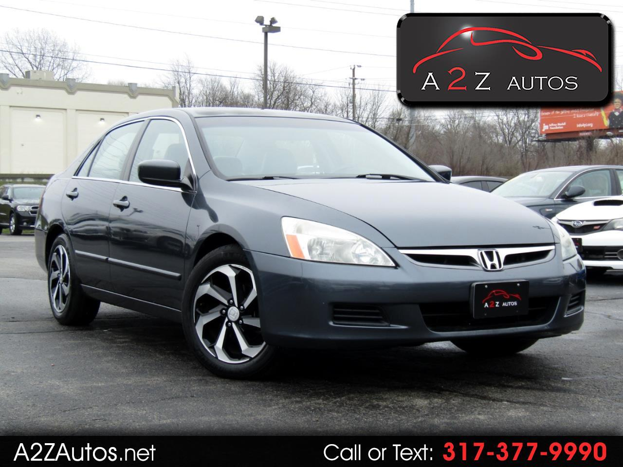 Honda Accord EX V-6 Sedan AT w/ Nav System/ XM Radio 2006