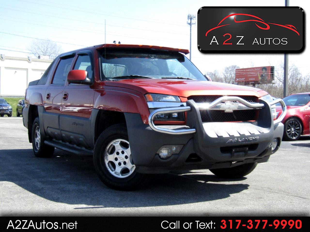 Chevrolet Avalanche 1500 4WD 2003
