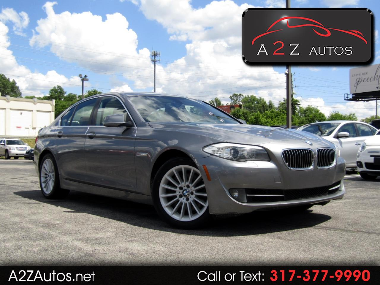 BMW 5-Series 4dr Sdn 535i xDrive AWD 2013