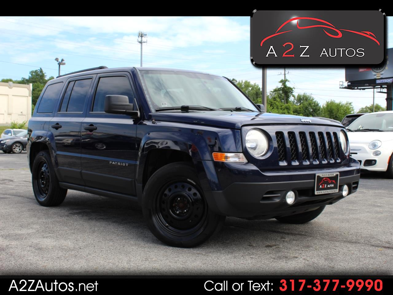 Jeep Patriot FWD 4dr Sport 2012