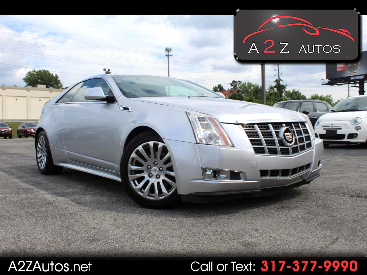 Cadillac CTS Coupe 2dr Cpe Performance AWD 2012