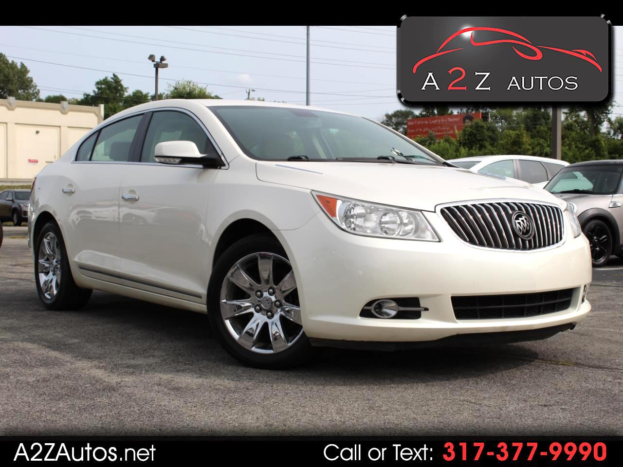Buick LaCrosse 4dr Sdn Leather FWD 2013