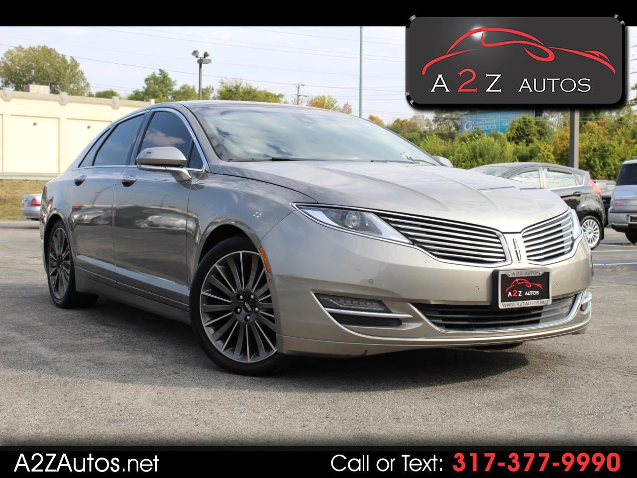 Lincoln MKZ 4dr Sdn Hybrid FWD 2015