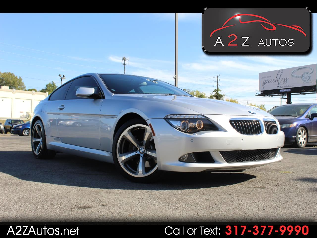 BMW 6 Series 2dr Cpe 650i 2009