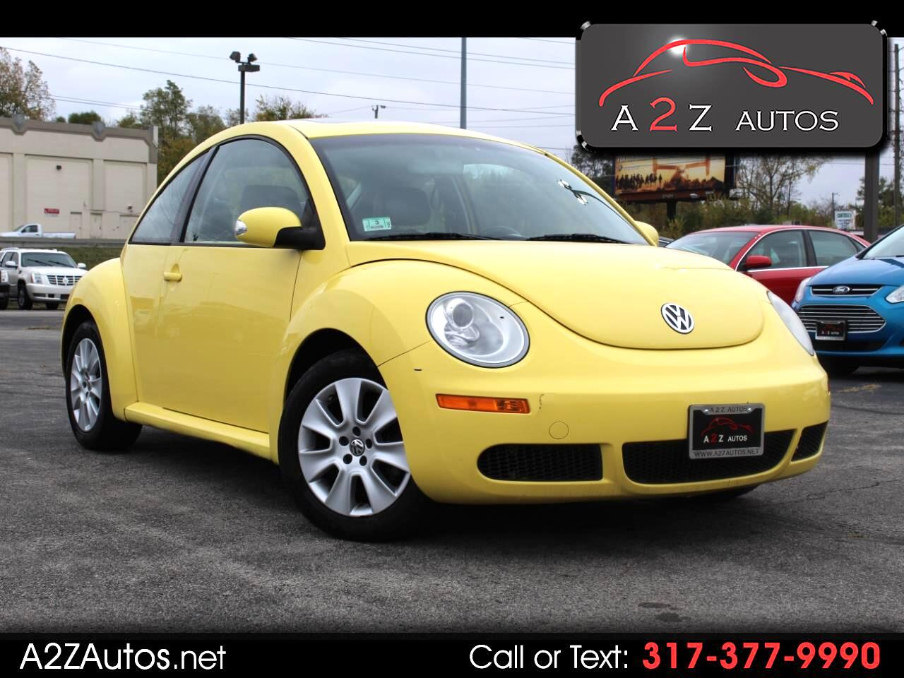 Volkswagen New Beetle Coupe 2dr Auto S 2009