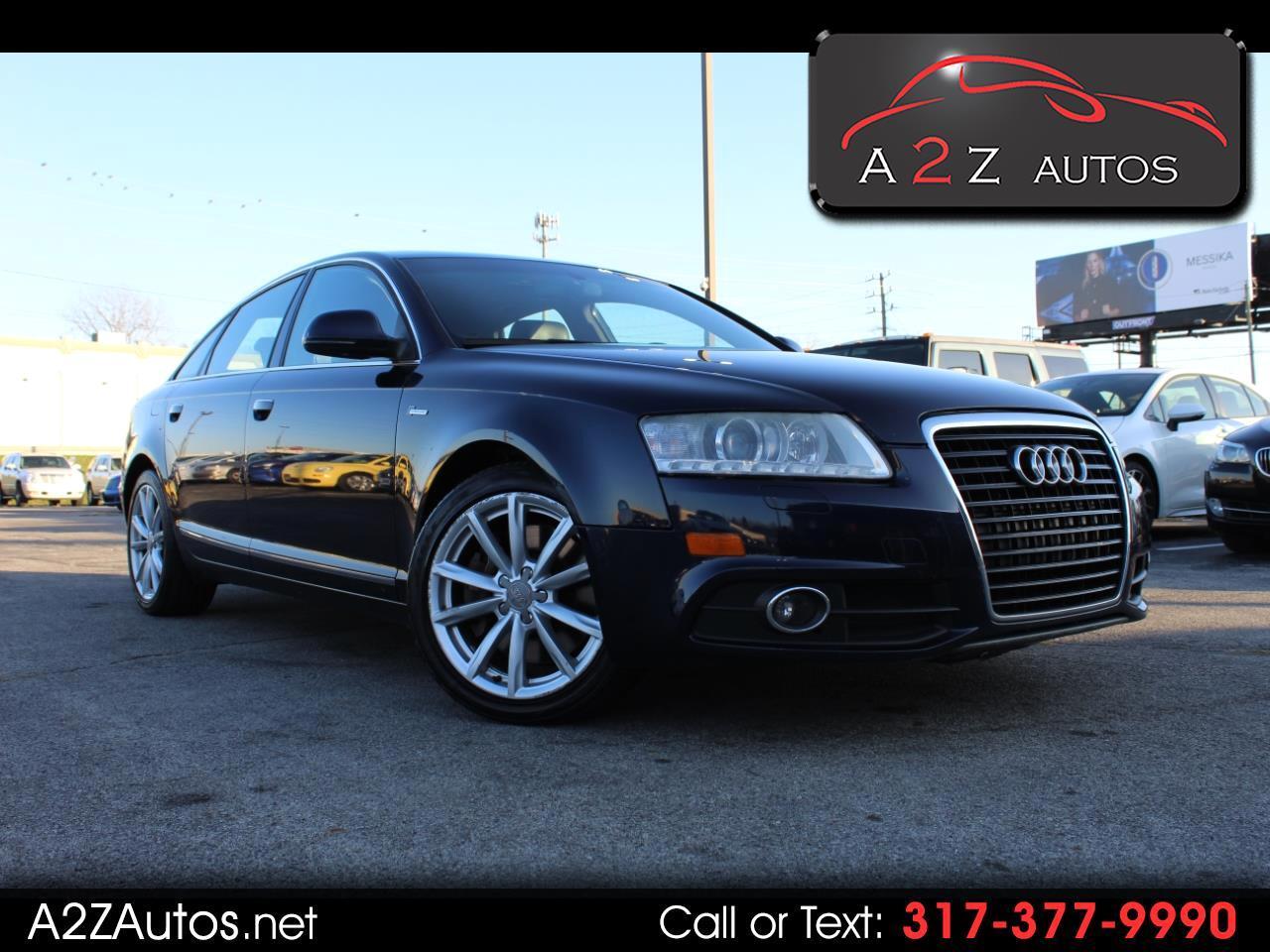 Audi A6 4dr Sdn quattro 3.0T Prestige 2011