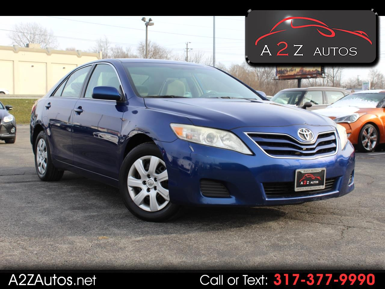 Toyota Camry 4dr Sdn I4 Auto LE (Natl) 2011