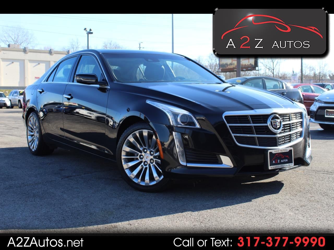 Cadillac CTS Sedan 4dr Sdn 2.0L Turbo Luxury AWD 2014