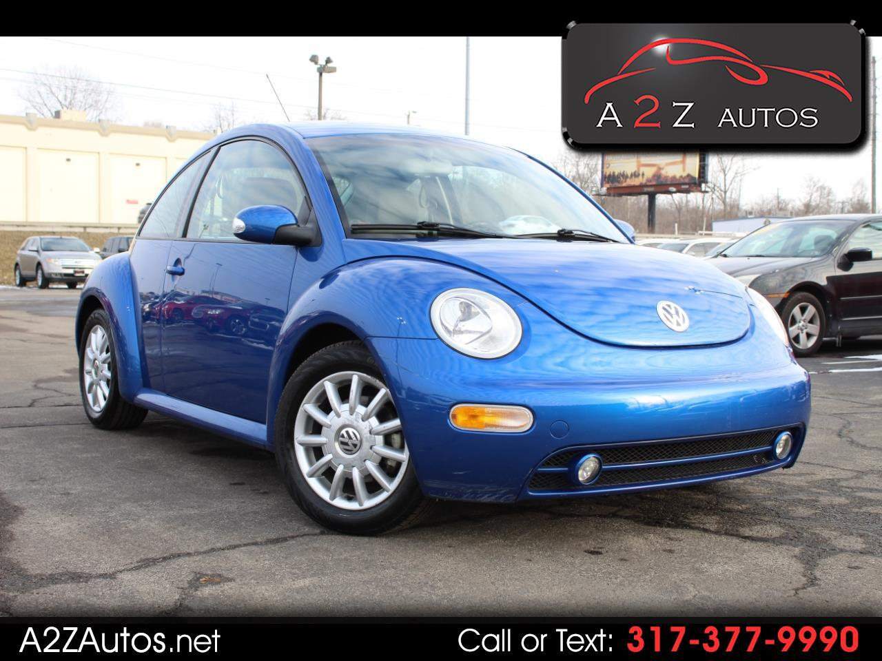 Volkswagen New Beetle Coupe 2dr Cpe GLS Auto 2004