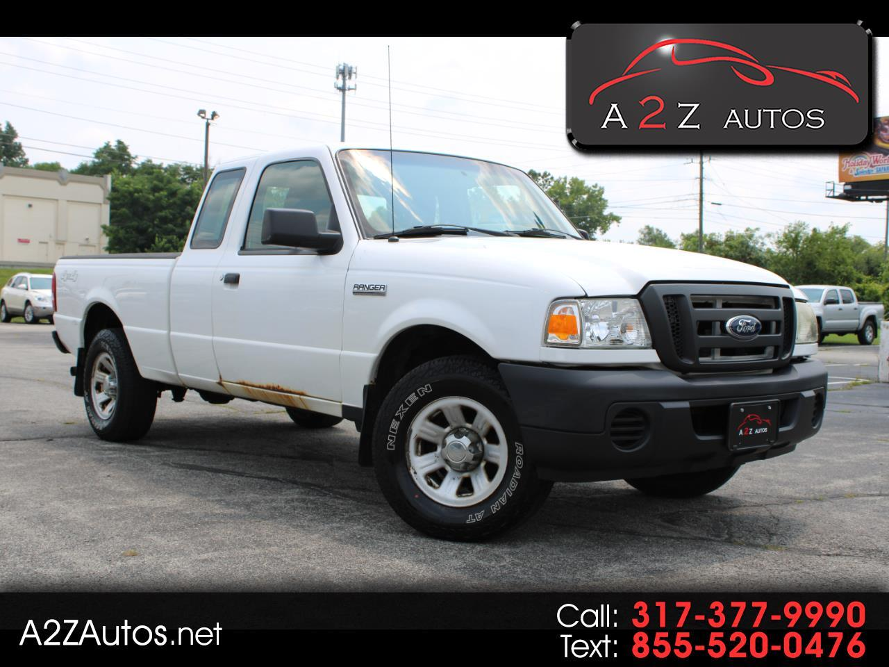 """Ford Ranger 4WD 2dr SuperCab 126"""" XL 2011"""