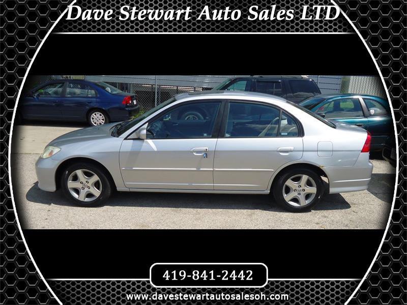 2004 Honda Civic EX sedan