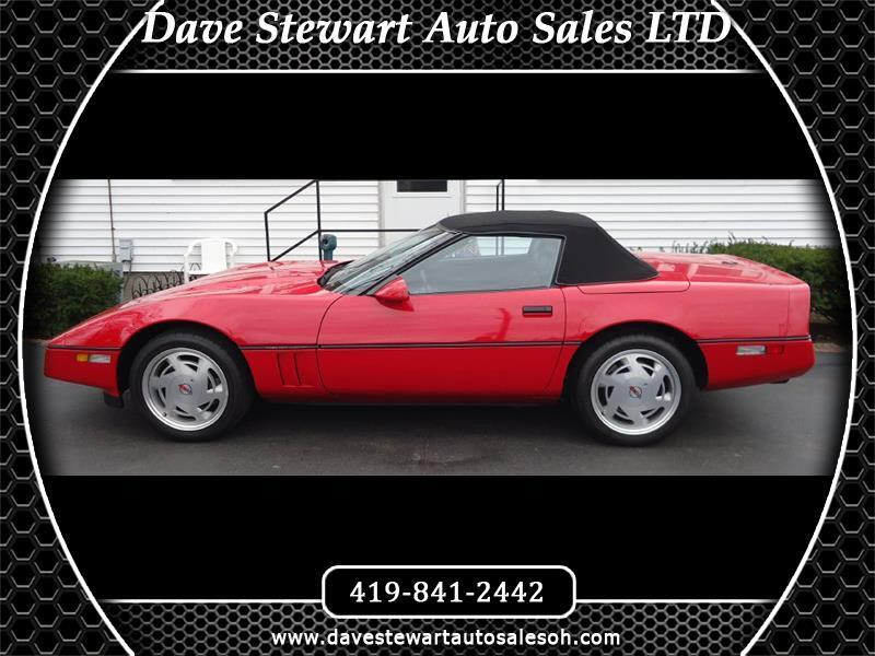 Chevrolet Corvette 1LT Convertible 1989