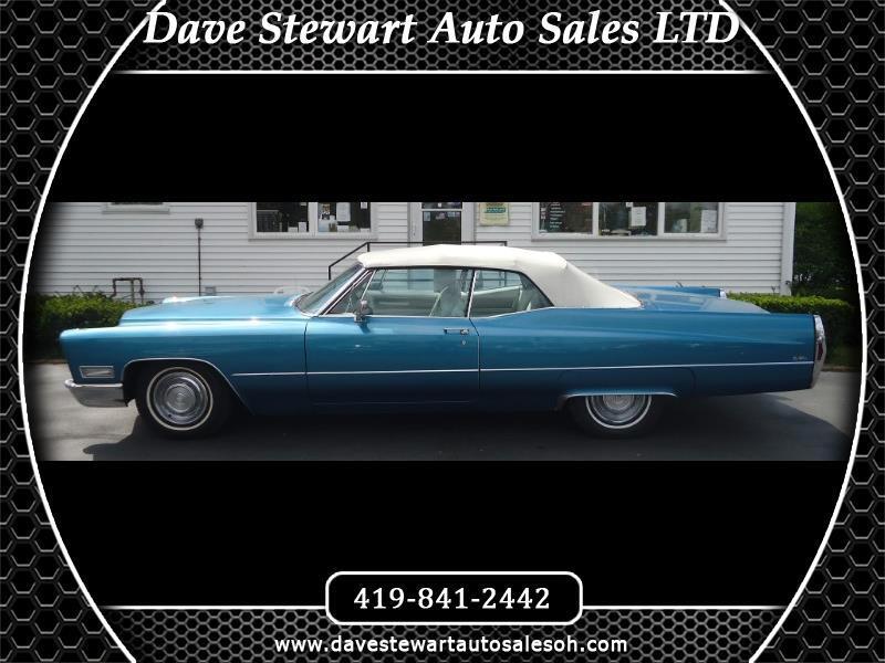 Cadillac DeVille 2dr Coupe 1968