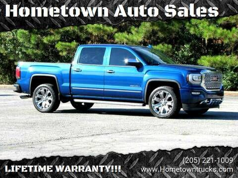 GMC Sierra 1500 Denali Crew Cab Long Box 4WD 2016